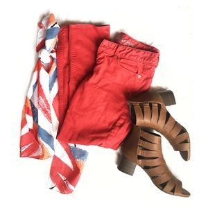 Skinny Ankle Red Express Jeans